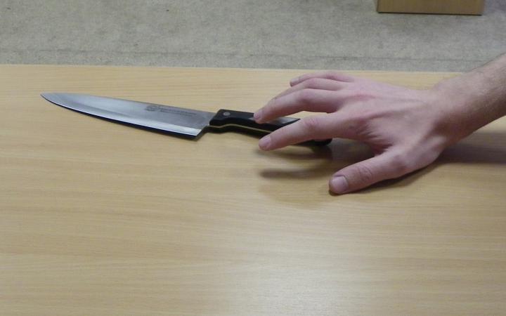 Чтобы не ходить на работу жительница Полярных Зорь порезала себя ножом