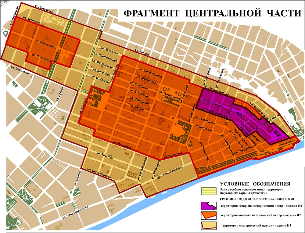 Появилась карта Саратова