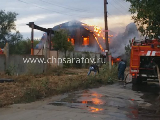 ВСаратове пожарные тушили сооружение уполей НИИЮго-Востока