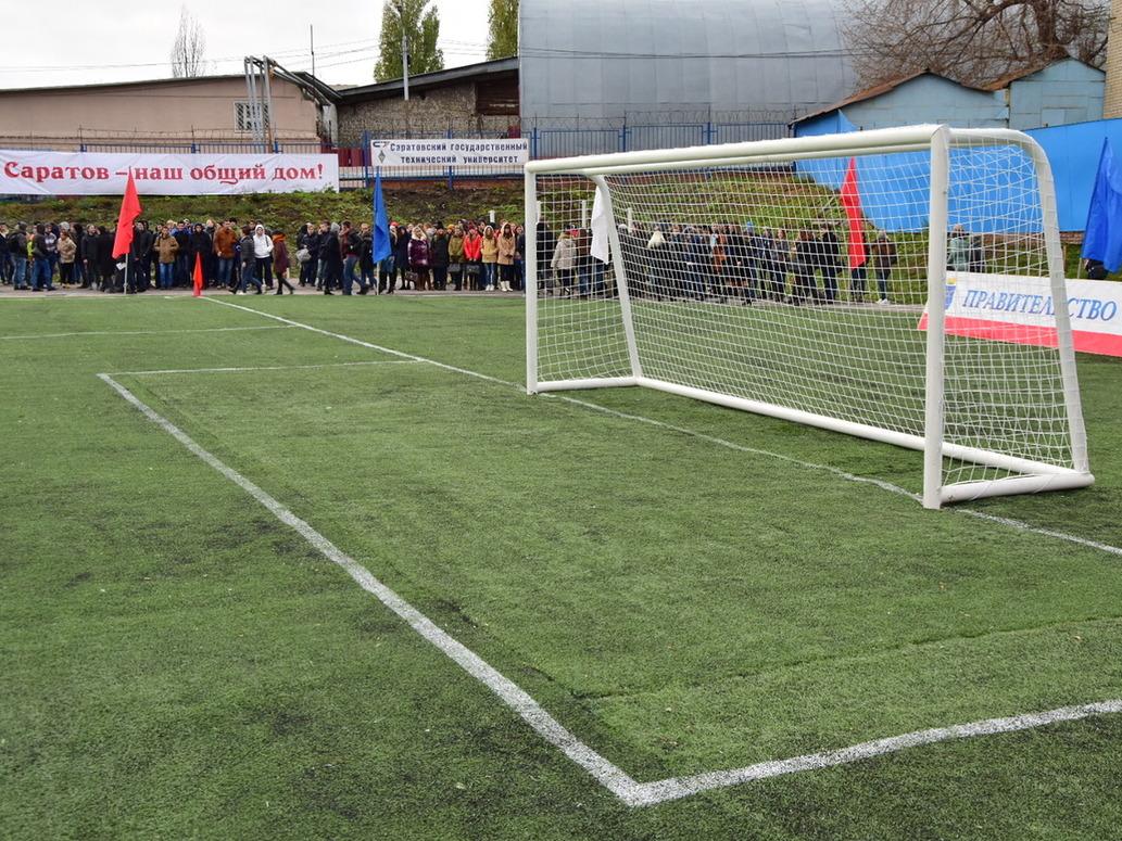 Радаев: Все стадионы Саратова приведем внормативное состояние