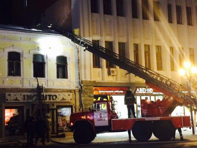 Горящую квартиру вдоме напроспекте Кирова тушили 44 пожарных