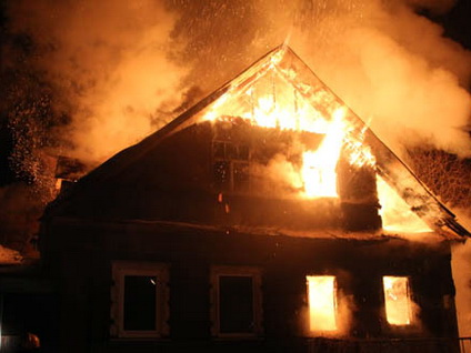 ВСаратовской области напожарах погибли два человека