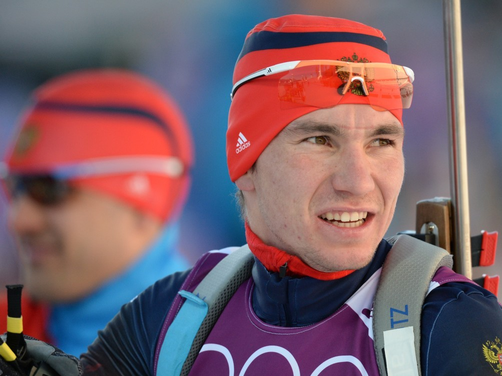 Русский биатлонист Александр Логинов одержал победу персональную гонку начемпионате Европы