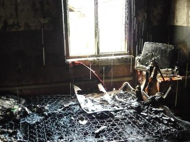 Напожарах вСаратовской области погибли два человека
