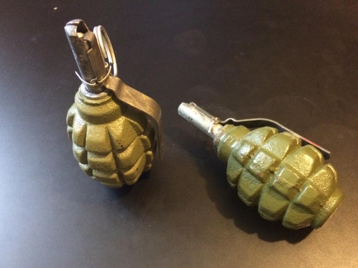 Боевую гранату обнаружили водворе дома вКировском районе Саратова