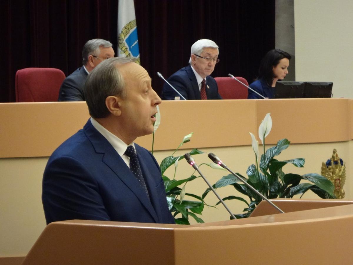 Саратовская область вышла на линию движения экномического роста— Валерий Радаев