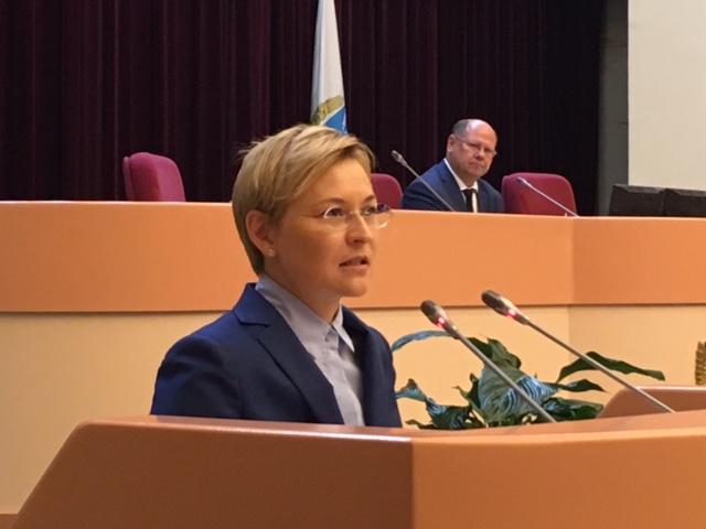 Людмила Бокова вновь выбрана сенатором отСаратовской области