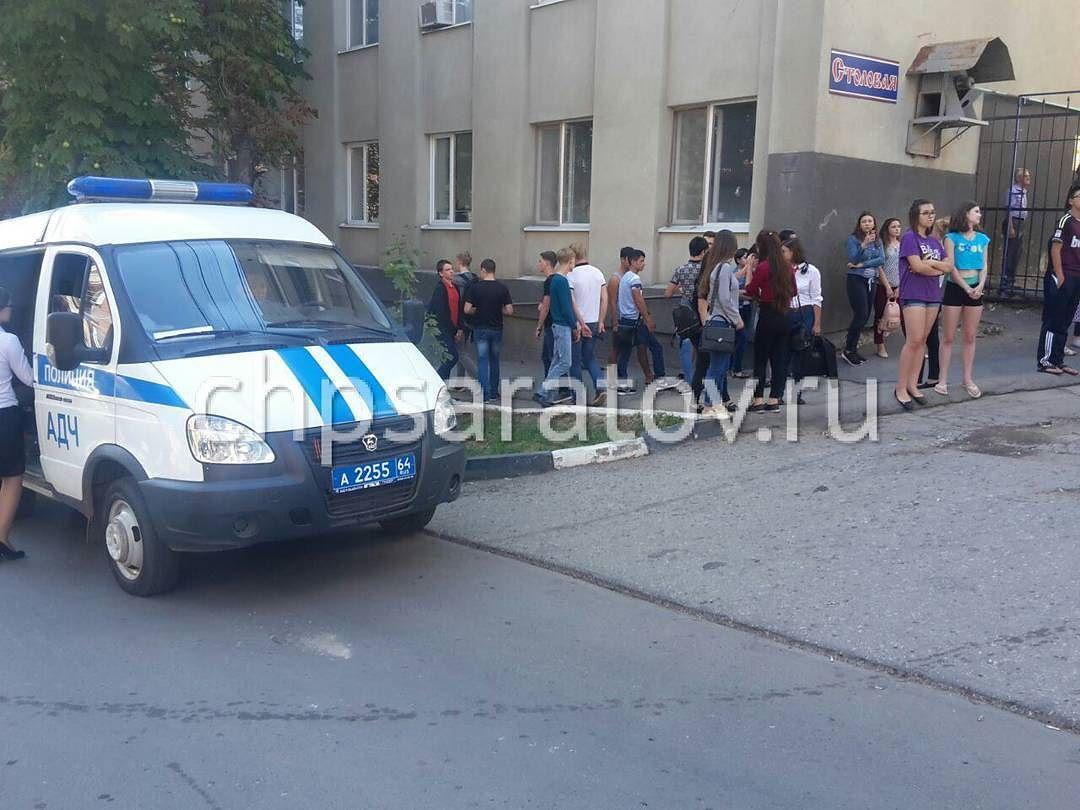ВСаратове снова эвакуировали университет из-за сообщения обомбе