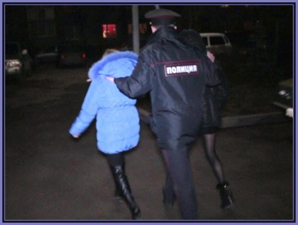 проституток милиция задержала