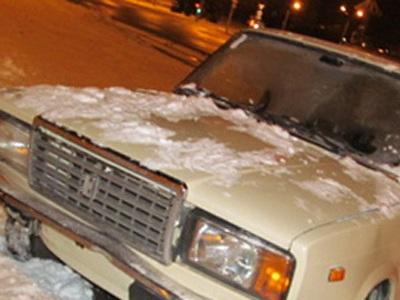 Полицейские через 40 мин. после правонарушения задержали автоугонщика