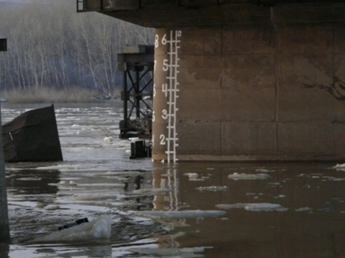 Вгороде Аткарске остаются подтопленными 14 жилых домов