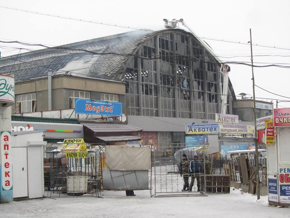 Сгоревший Сенной рынок принадлежал учредителю группы компаний «РИМ» - Общественное мнение Саратов Новости Сегодня